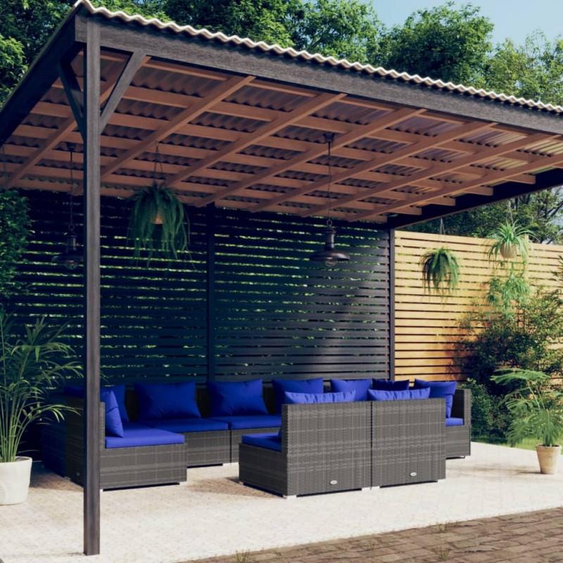 "vidaXL Soporte doble monitor TV 32"" para montar en mesa de escritorio"