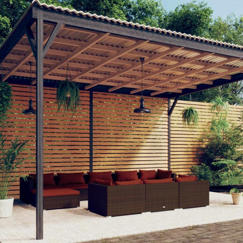 vidaXL Vinoteca 25 L 8 botellas pantalla LCD