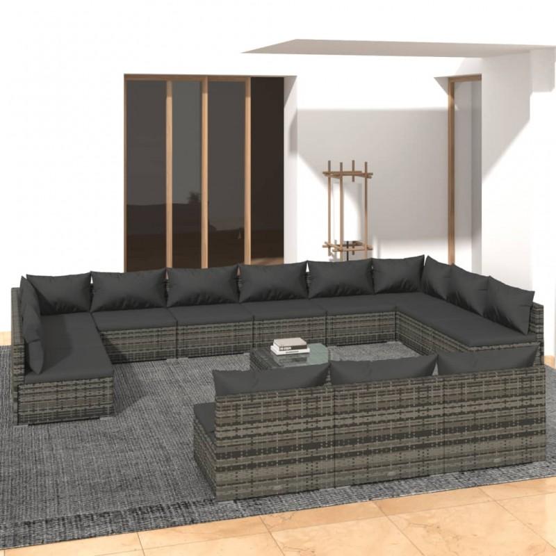 vidaXL Lámpara antimosquitos de aluminio y ABS negro 30 W