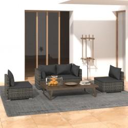 vidaXL Juego de sartenes 5 piezas aluminio verde