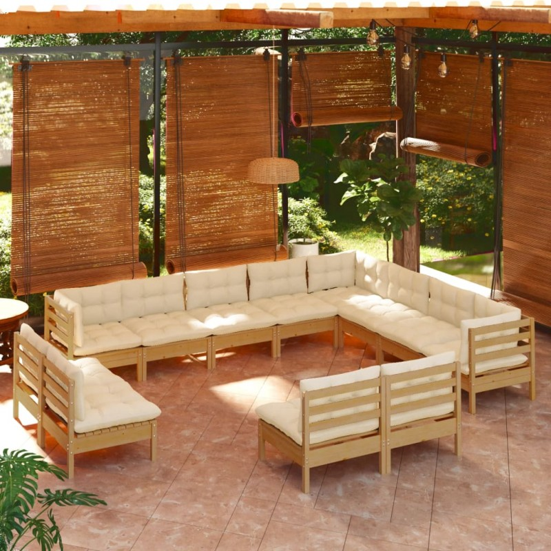 vidaXL Vasos de cristal térmico doble pared para café 12 uds 80 ml