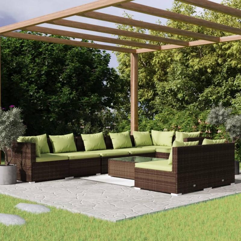 """vidaXL Soporte de monitor para escritorio con 4 brazos 13""""-27"""""""