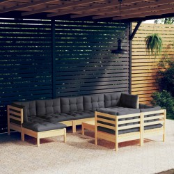 vidaXL Cuerda para poste de control de masas terciopelo rojo plateado