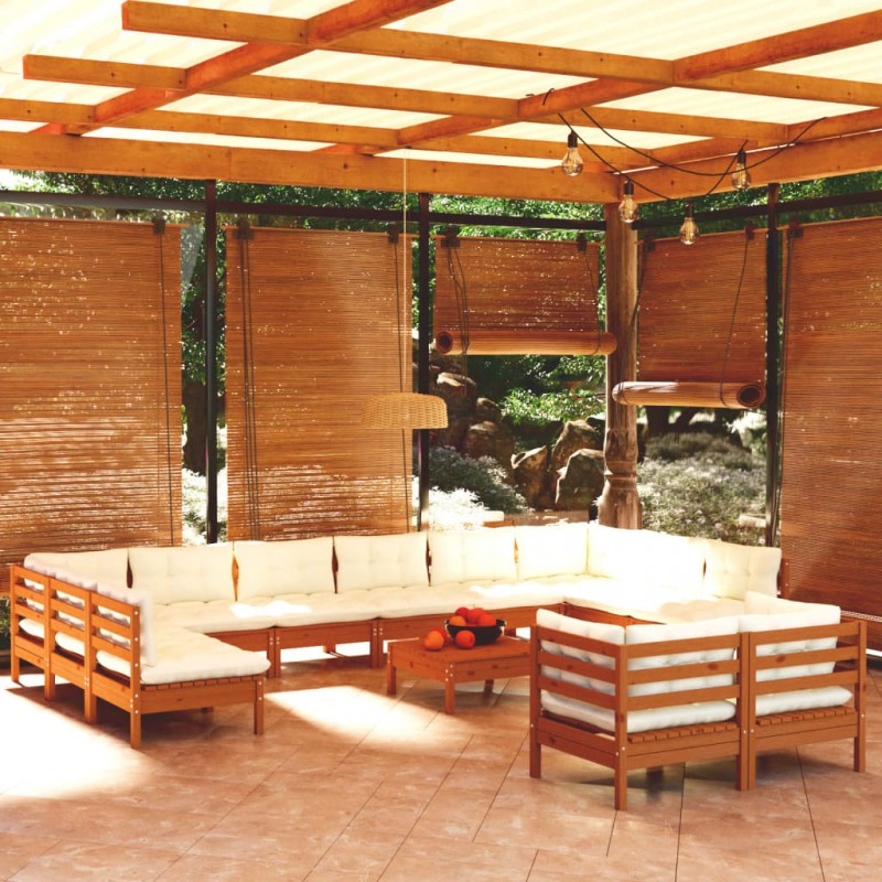 vidaXL Trombón latón amarillo lacado en oro Bb