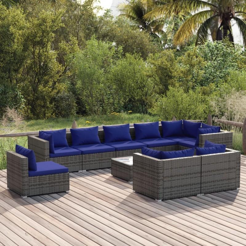 vidaXL Soporte de micrófono para mesa acero negro