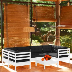vidaXL Soportes para altavoces de estudio 2 unidades acero negro