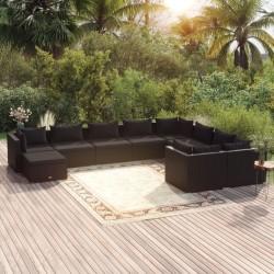 vidaXL Mueble para la televisión aglomerado blanco 120x40x40cm