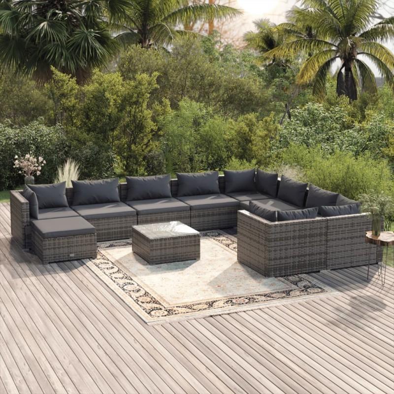 vidaXL Mueble de TV aglomerado blanco y roble Sonoma 100x40x40 cm