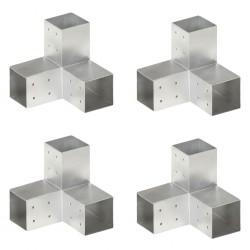 vidaXL Malla mosquitera de acero inoxidable plateada 150x500 cm