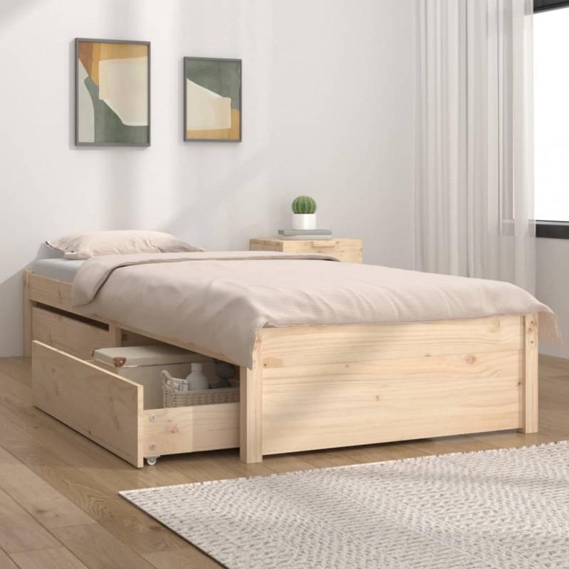 vidaXL Estantería para CDs de aglomerado gris 21x16x88 cm