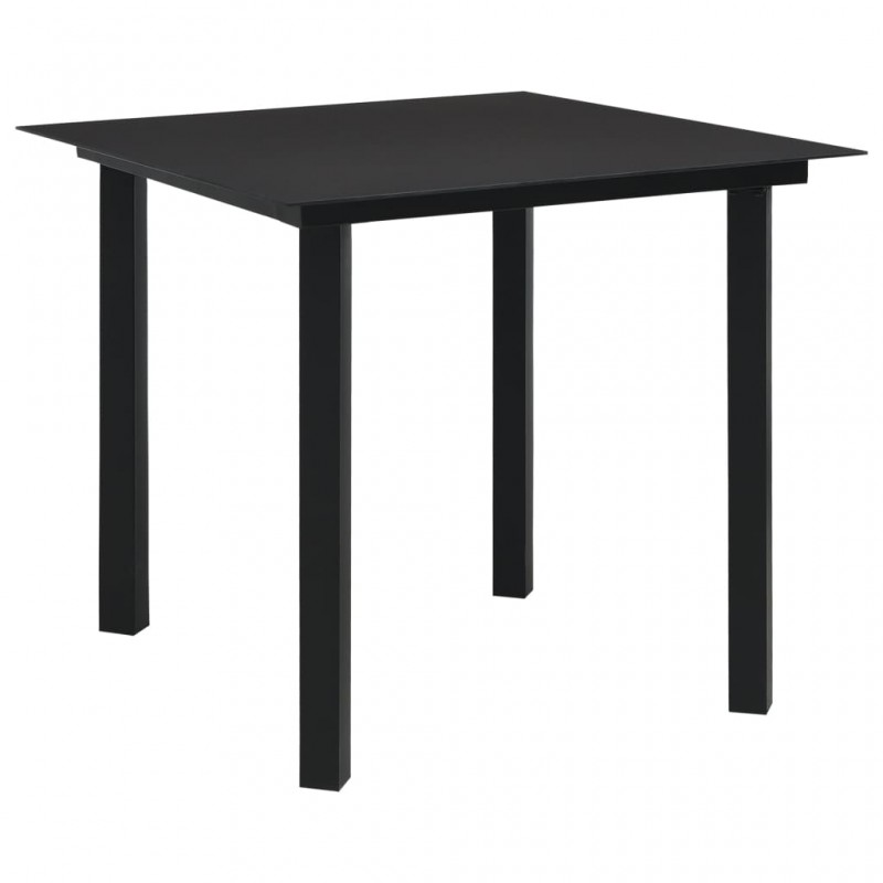 Colchón de aire autohinchable negro 190 x 130 x 5 cm (Doble)