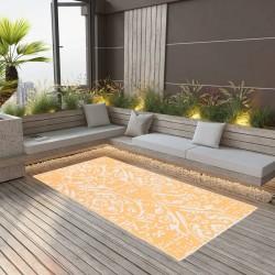 vidaXL Colchón doble de aire autoinflable azul 190x130x5 cm