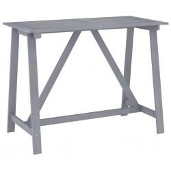 vidaXL Juego de maletas rígidas de 3 piezas plateado
