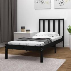vidaXL Remolque de carga para bicicletas negro y amarillo 65 kg