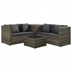 vidaXL Tabla de surf 170 cm hojas