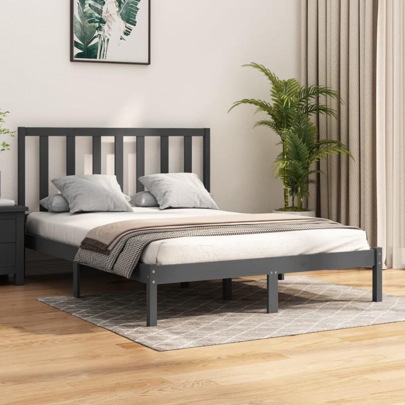 vidaXL Columpio de bebé con cinturón de seguridad algodón madera azul