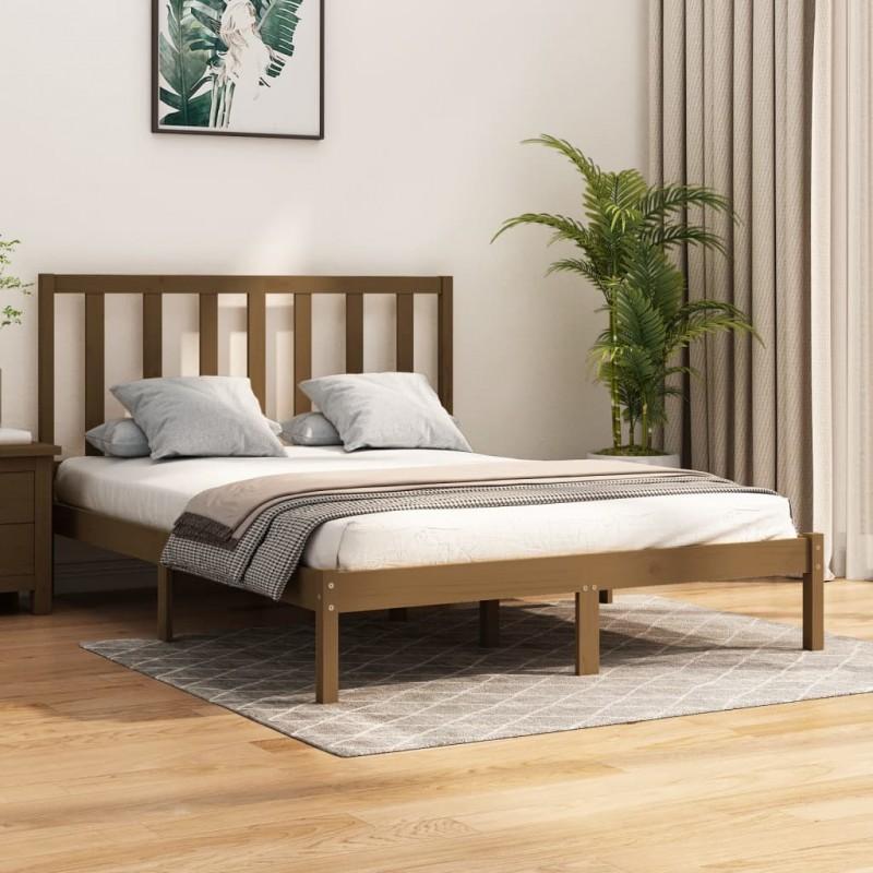 vidaXL Maletín trolley de maquillaje aluminio dorado 35x29x45 cm