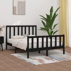 vidaXL Maletín para armas de aluminio negro 118x38x12 cm