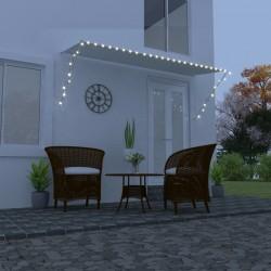 vidaXL Jardinera de gaviones de acero 50x50x100 cm