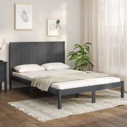 vidaXL Banco balancín para niños tela marrón 115x75x110 cm