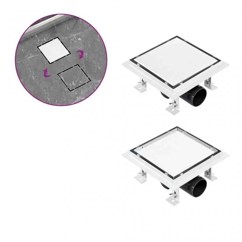 vidaXL Mosquitera plisada para ventanas aluminio 120x120cm