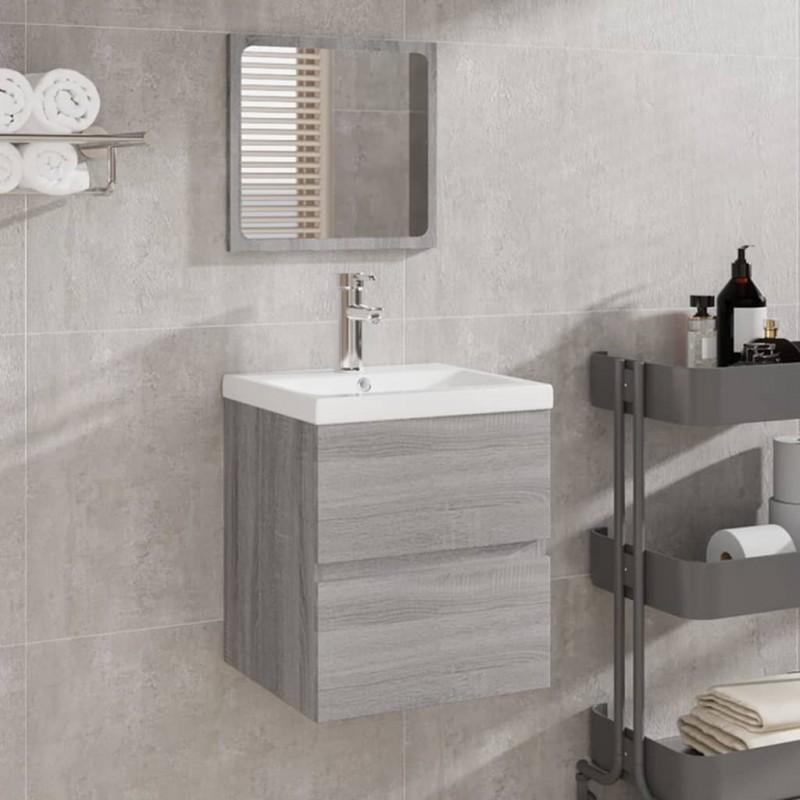 vidaXL Kit de cuidado de la madera marrón y blanco 2x250 ml