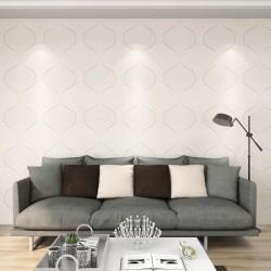 vidaXL Kit de herrajes para puerta corredera 183 cm acero plateado
