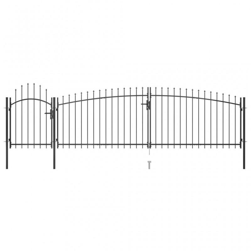 vidaXL Persiana enrollable de ducha 80x240 cm blanco