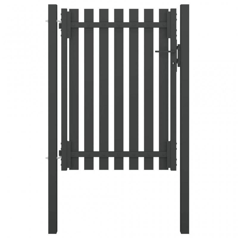 vidaXL Persiana enrollable de ducha 80x240 cm cuadrados