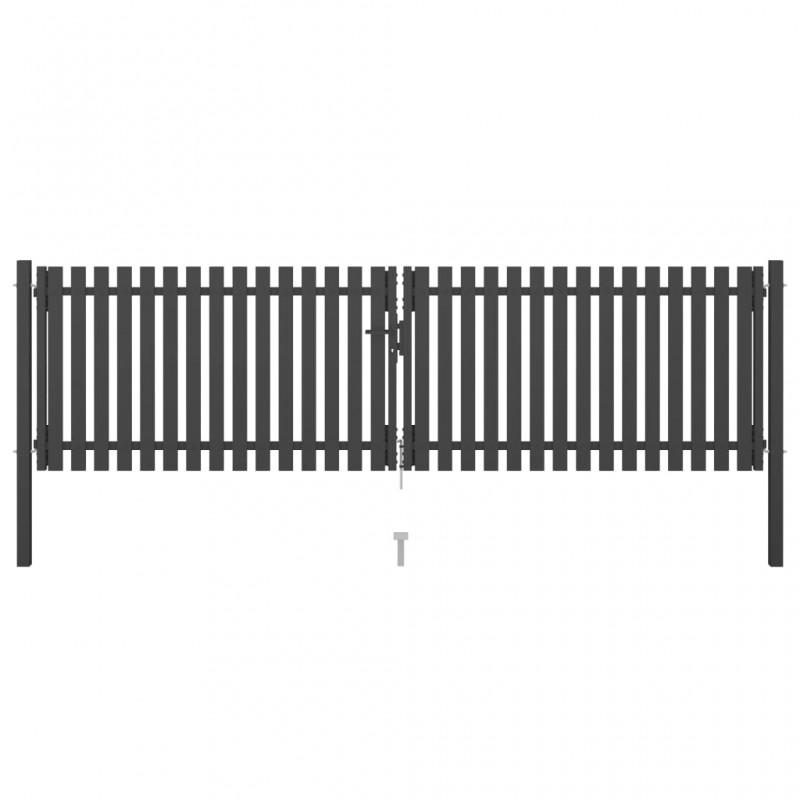 vidaXL Persiana enrollable de ducha 160x240 cm cuadrados