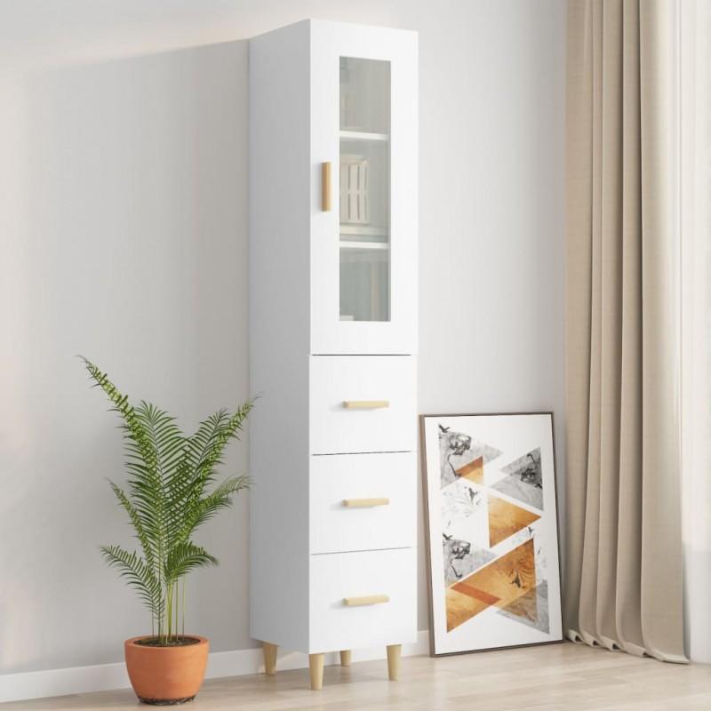 vidaXL Cabecero copetudo de tela gris oscuro 160x200 cm