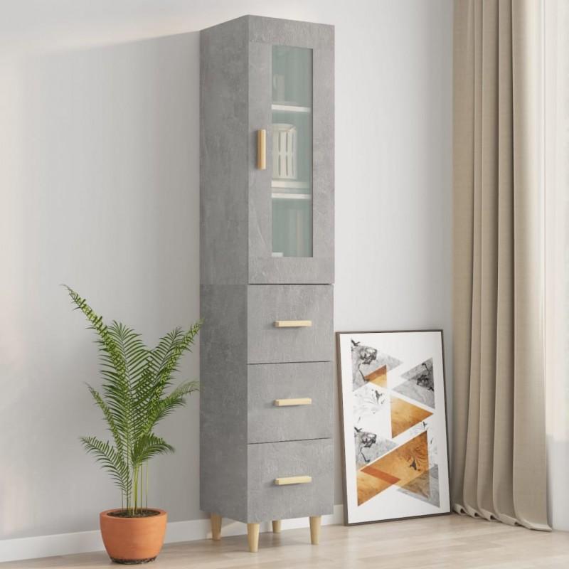 vidaXL Cabecero de tela gris oscuro 140x200 cm