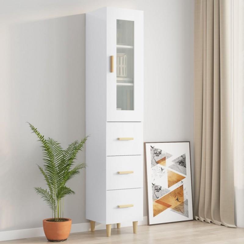 vidaXL Cabecero de tela gris oscuro 160x200 cm
