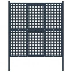 vidaXL Manguera de succión con conectores 7 m 22 mm verde