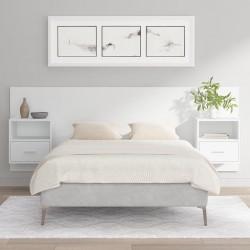 vidaXL Camilla de masaje plegable 2 zonas madera morado