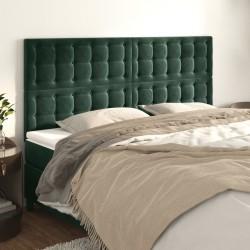 vidaXL Juego de perchas ropa 100 uds antideslizantes terciopelo gris