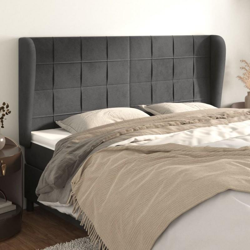 vidaXL Soportes del panel de la valla 4 uds en L metal galvanizado