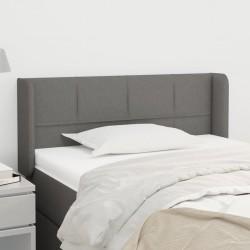 vidaXL Cajas de almacenaje con tapas 4 uds tela gris 32x32x32 cm