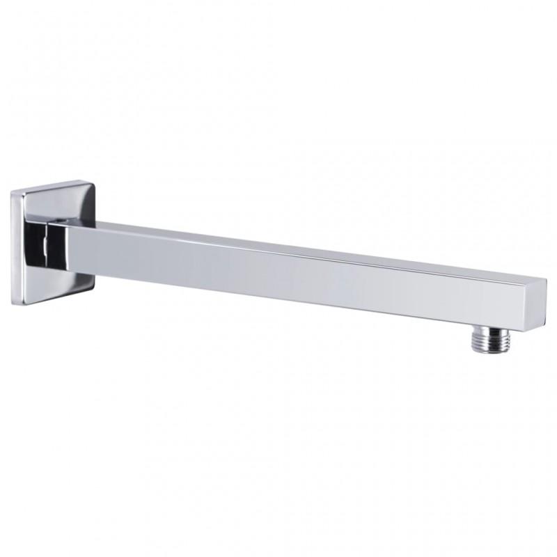 vidaXL Caseta de jardín de metal gris 257x398x178 cm