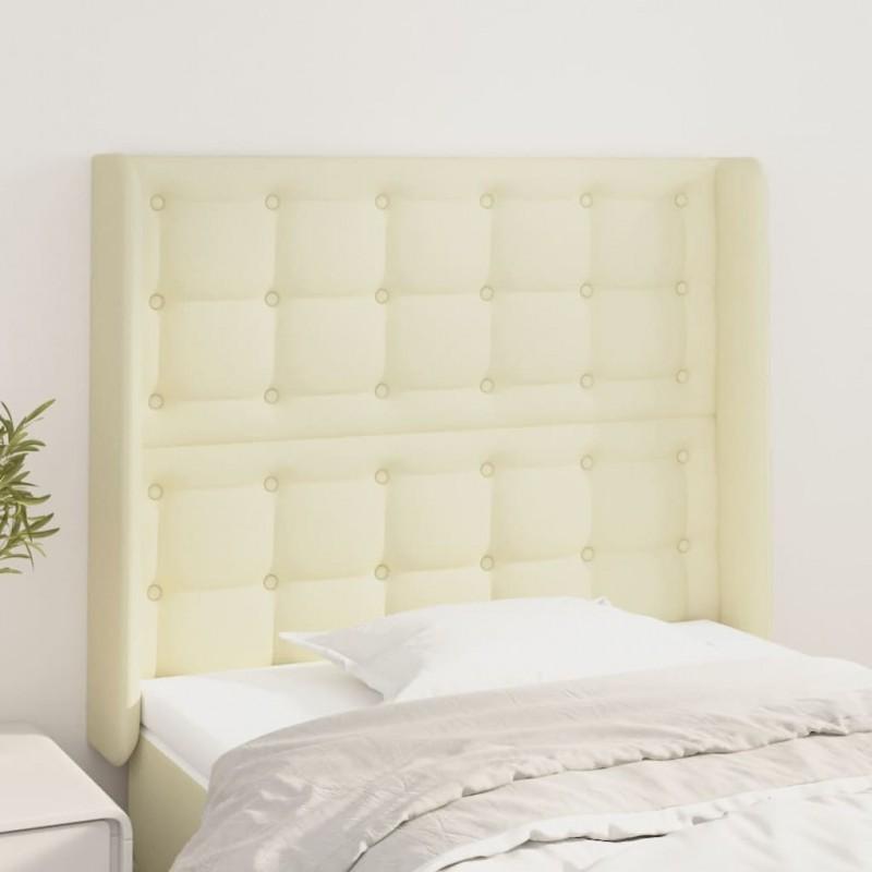 vidaXL Estructura de cama de madera maciza de pino blanca 90x200 cm