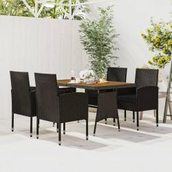 vidaXL Lámpara colgante ovalada de sauce 40 W E27 25x62 cm