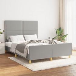 vidaXL Lavabo de lujo de cerámica rectangular azul claro mate 71x38 cm