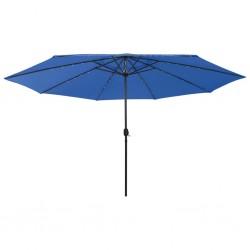 vidaXL Escalera de aluminio doble cara 2 peldaños 44 cm