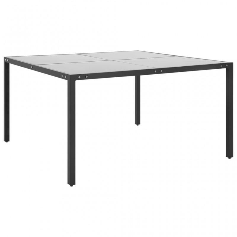 vidaXL Reloj de pared de metal plateado 78 cm