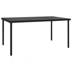 vidaXL Reloj de pared de metal dorado y negro 80 cm