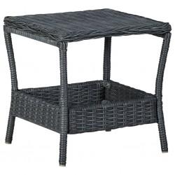 vidaXL Felpudo lavable verde 40x60 cm