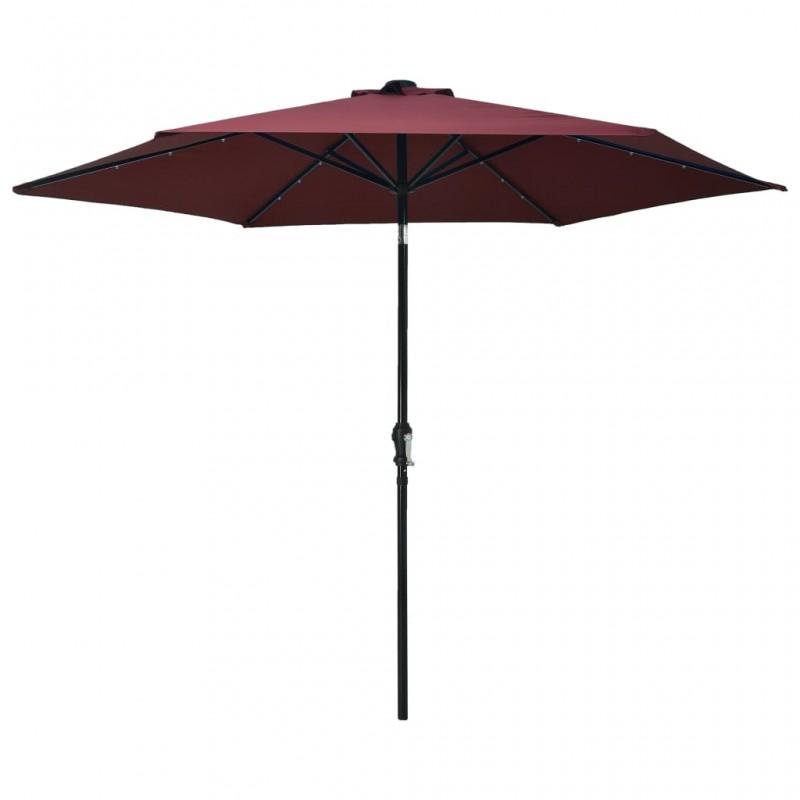 vidaXL Felpudo lavable naranja 40x60 cm