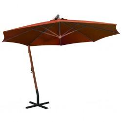 vidaXL Felpudo lavable rojo 120x180 cm