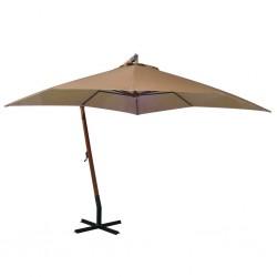 vidaXL Felpudo lavable azul 60x90 cm