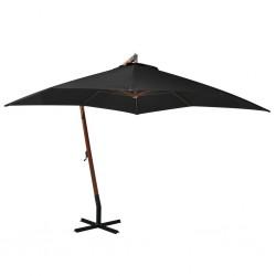 vidaXL Felpudo lavable azul 90x150 cm